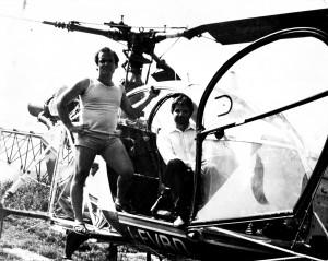 Arnaldo e Pascquale in Elicottero
